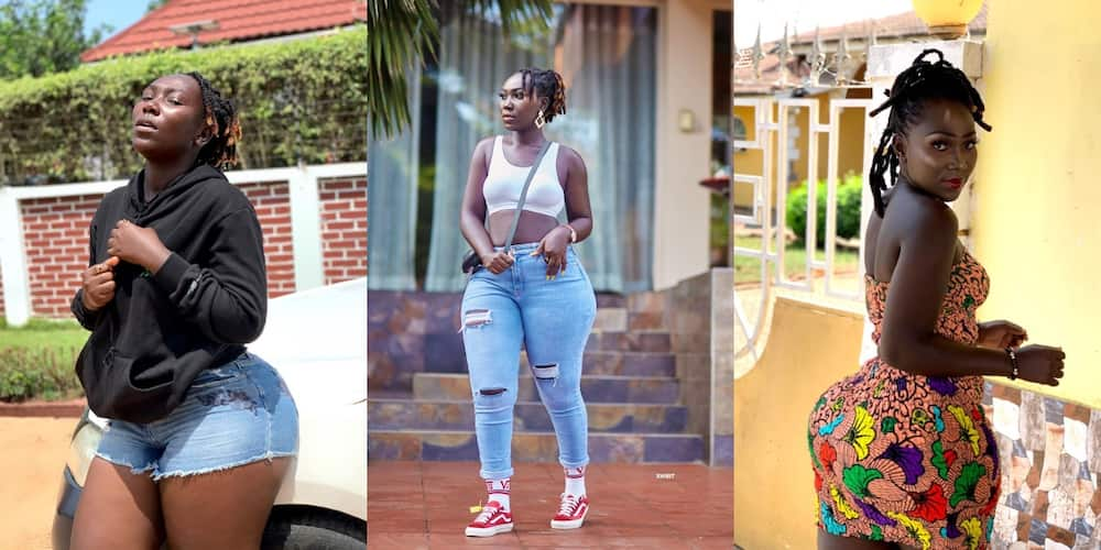 Black and Beautiful: Fans shout as Choqolate GH stuns social media with new photo
