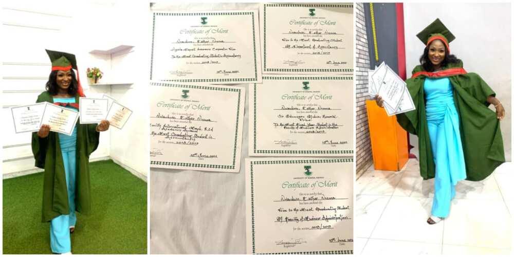 UNN faculty best graduating student bags 5 awards