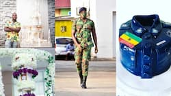 Meet the talented Ghanaian military officer who makes extraordinary cake designs