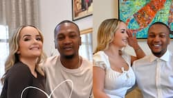 Algerian wife of Mahama's 1st son drops beautiful loved-up photos after their 1st wedding anniversary