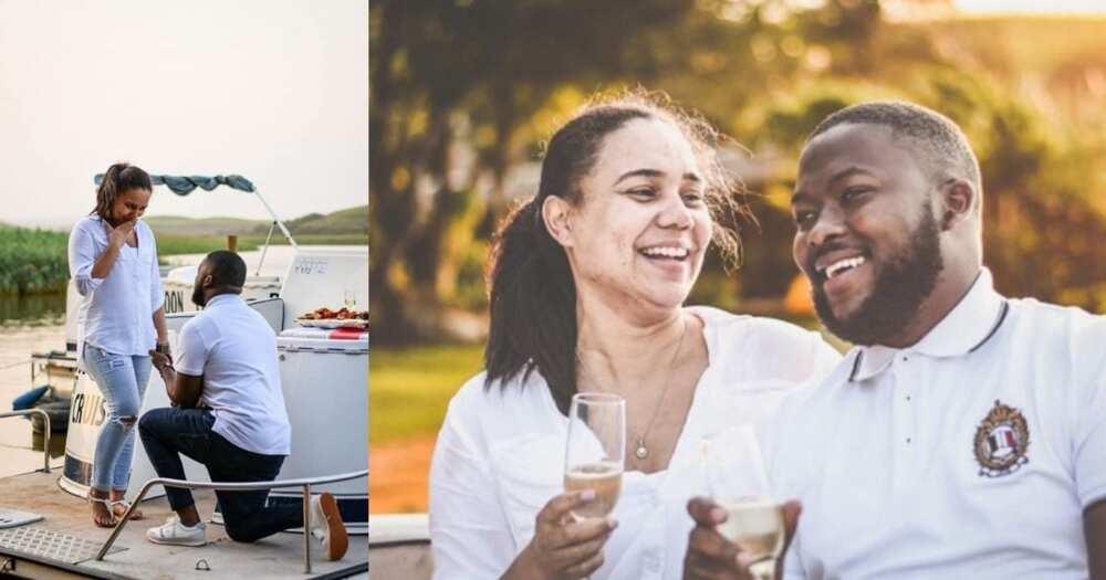 Couple, stunning, engagement photos, wows SA