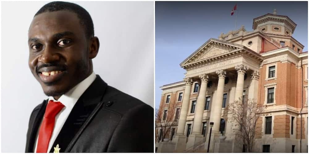 Nigerian student defeats 102 persons to win scholarship award, breaks record in Canada
