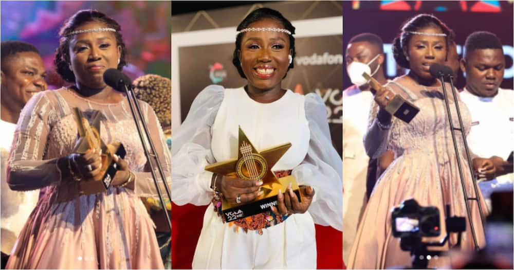 Diana Hamilton shares emotional message of gratitude after winning Artiste of the Year at VGMA22