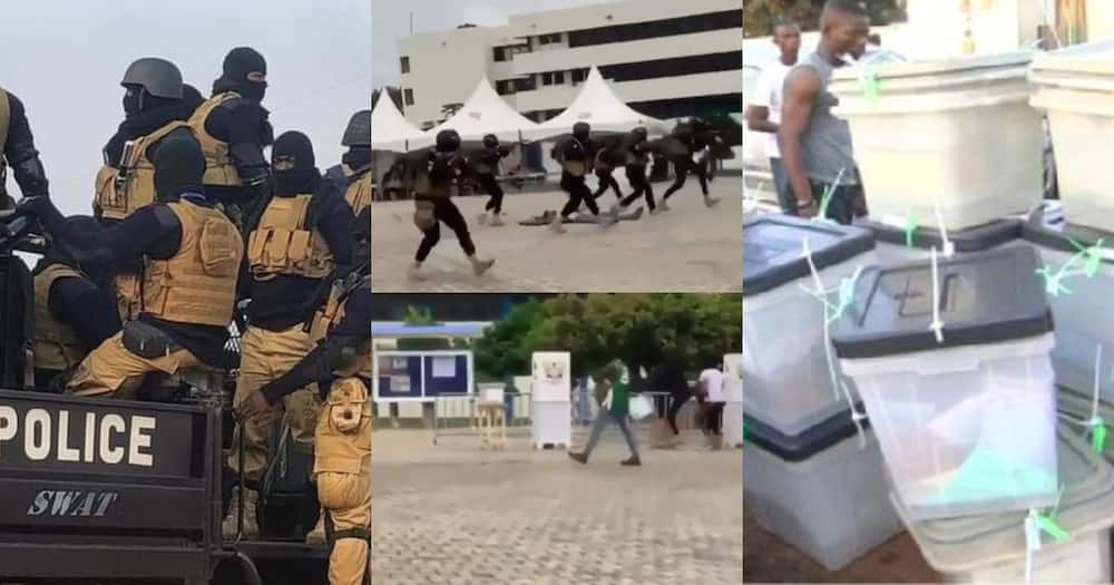 Election 2020: Video of police training to combat ballot box snatchers pop up