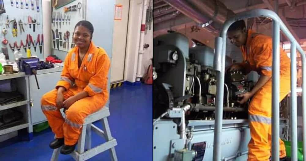 Women's Day: Meet the 1st Chief Marine Engineering Officer at EL Port
