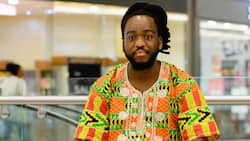 KNUST graduate narrates how he got a low score for wearing African print for his final presentation