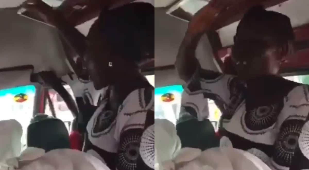 Old lady sings profane song; causes stir with powerful 'atopa' words in video