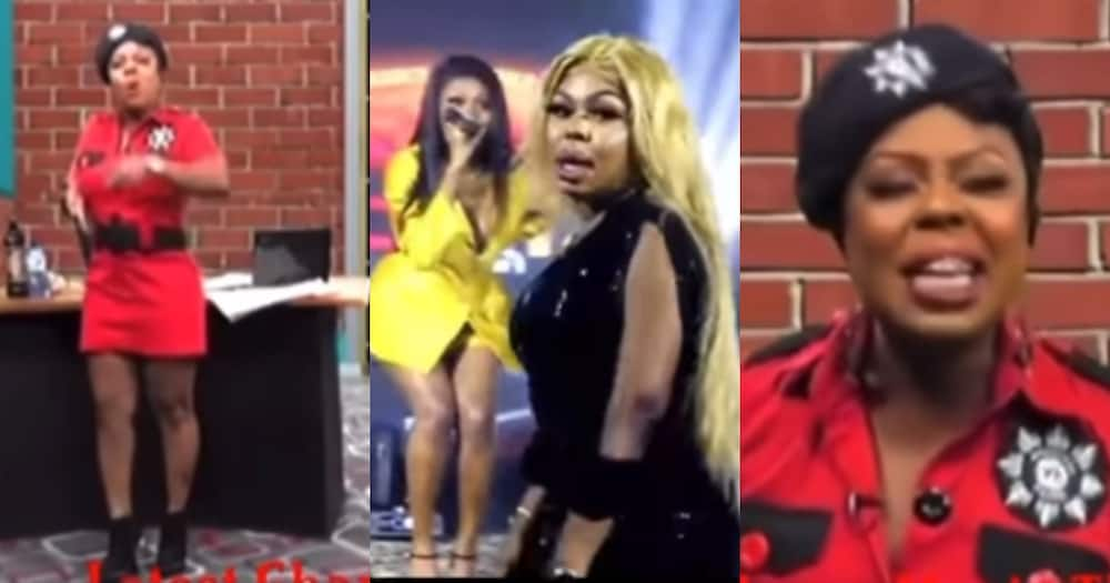 Her songs are not good, her talent is weak - Old video of Afia Schwar jabbing Wendy Shay pops up