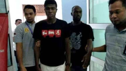 Two Ghanaian footballers arrested in Indonesia; set to be deported for committing a serious crime