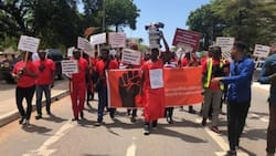 Law School students hit the street in massive demo over mass failure of entrance exams