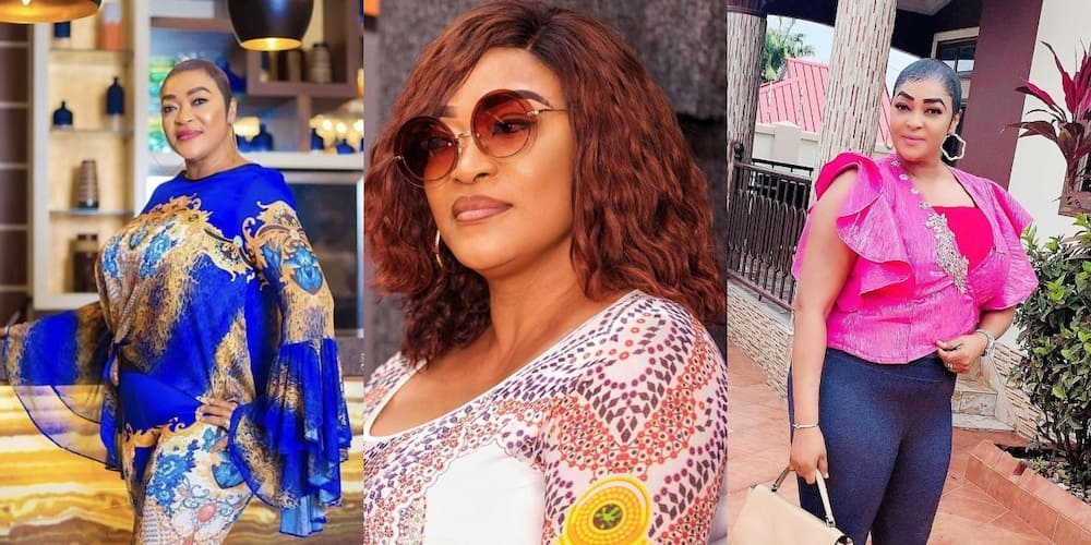 Actress Kalsoume Sinare puts her huge mansion on display in new photo