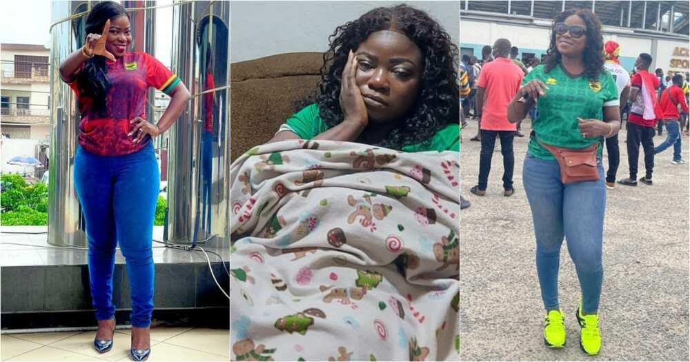Afia Pokuaa Vim Lady sick over Heartt-Kotoko match