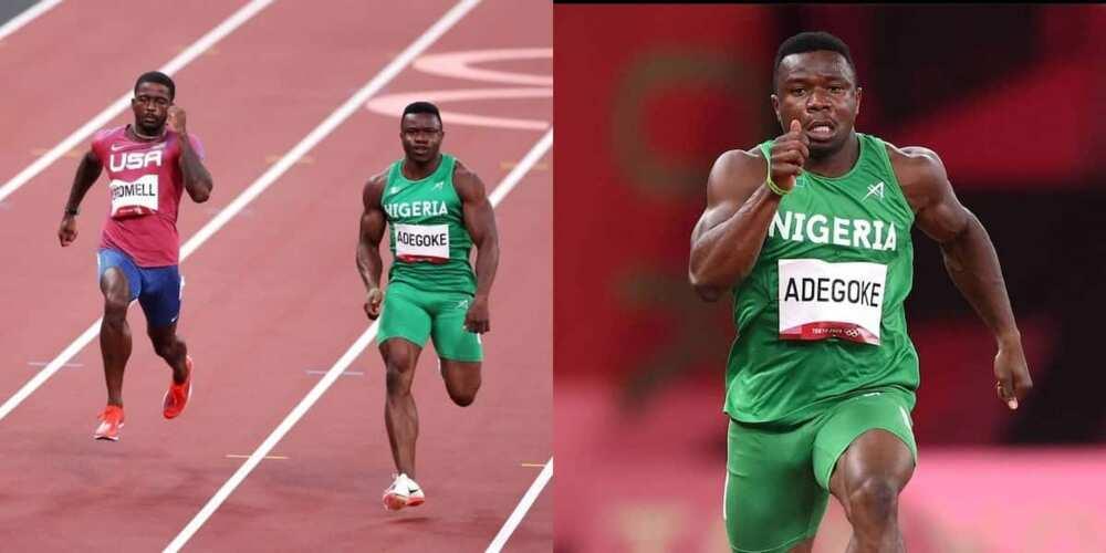 Olympics: Nigerian Athlete Adegoke Beats World's Fastest Man to Qualify For 100m Semifinal