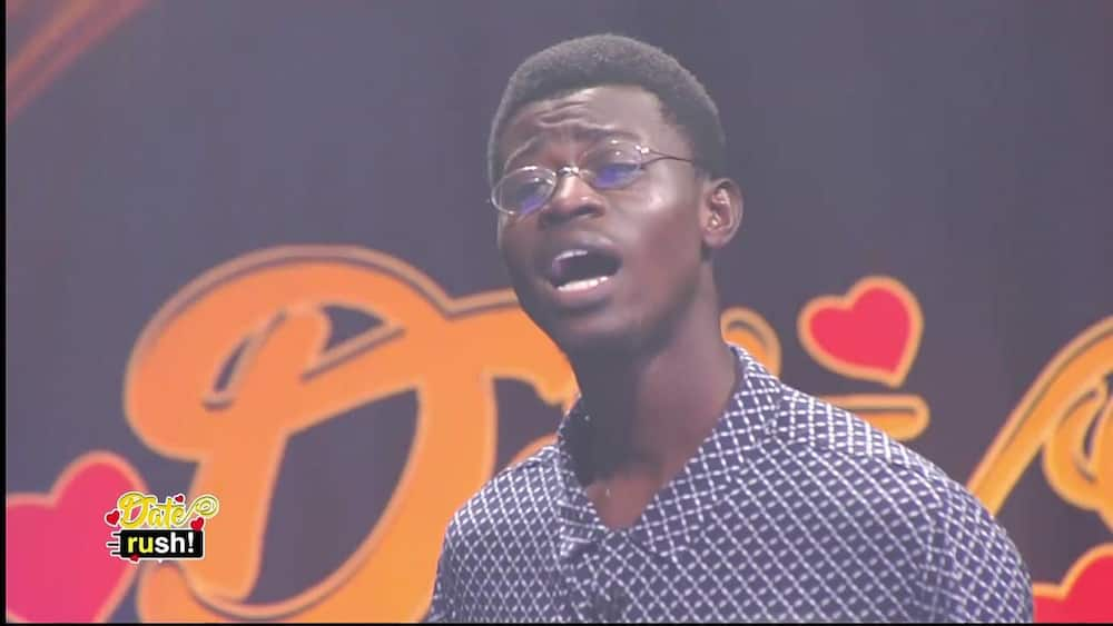 Date Rush: Sammy KNUST of Nana Ama fame Fails to find love on show as Ladies Chase him out