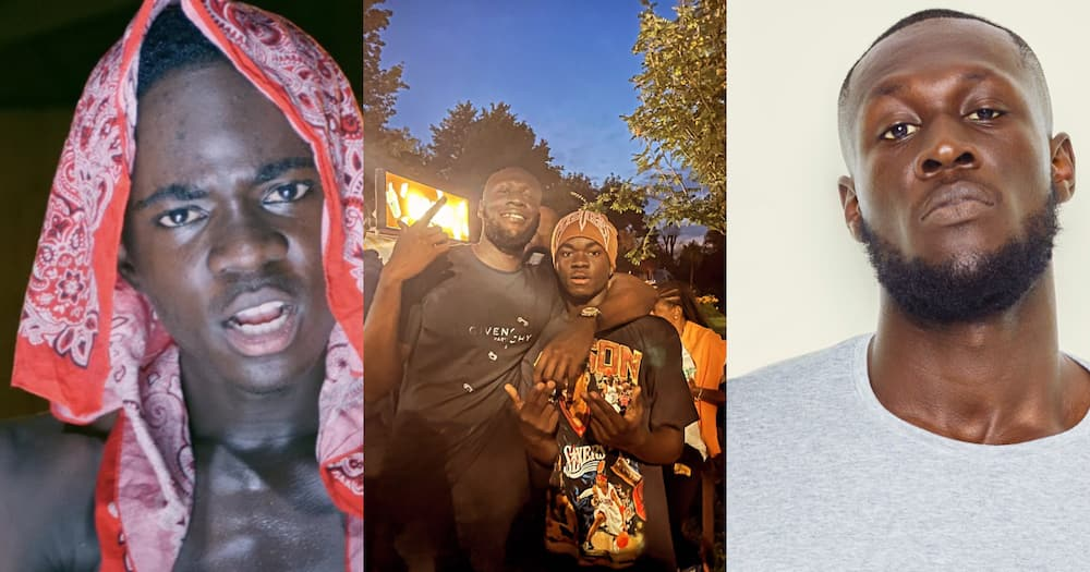 Yaw Tog and Stormzy meet after 'I made him more famous' comments; photos pop up