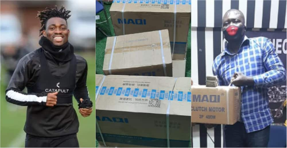 Ghanaian ex-convict who lost his job and ejected from house by boss gets help from Christian Atsu