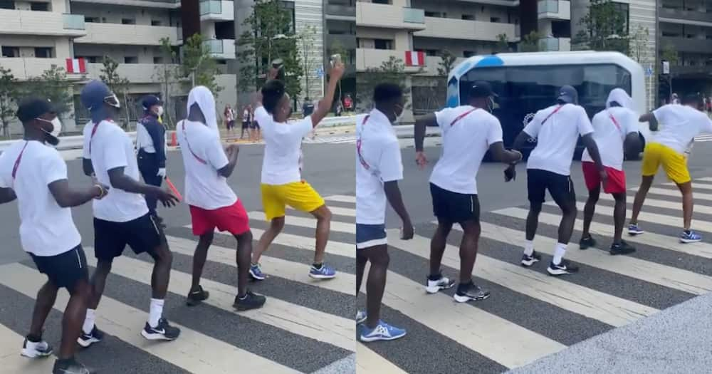 Tokyo 2020: Ghanaian Athletes light up game village with enthralling dance moves