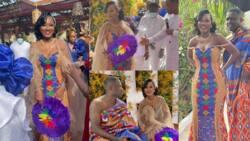 Exclusive traditional wedding photos and videos emerge as Apostle Sam Korankye Ankrah's 2nd daughter marries