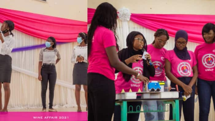 KNUST engineering ladies lose to UMaT ladies in competition for innovative ideas; Tech placed last out of 3 schools