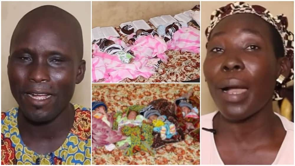 After Woman Gave Birth to 5 Kids at once, Husband Said he's Scared, Complained about not Having Food