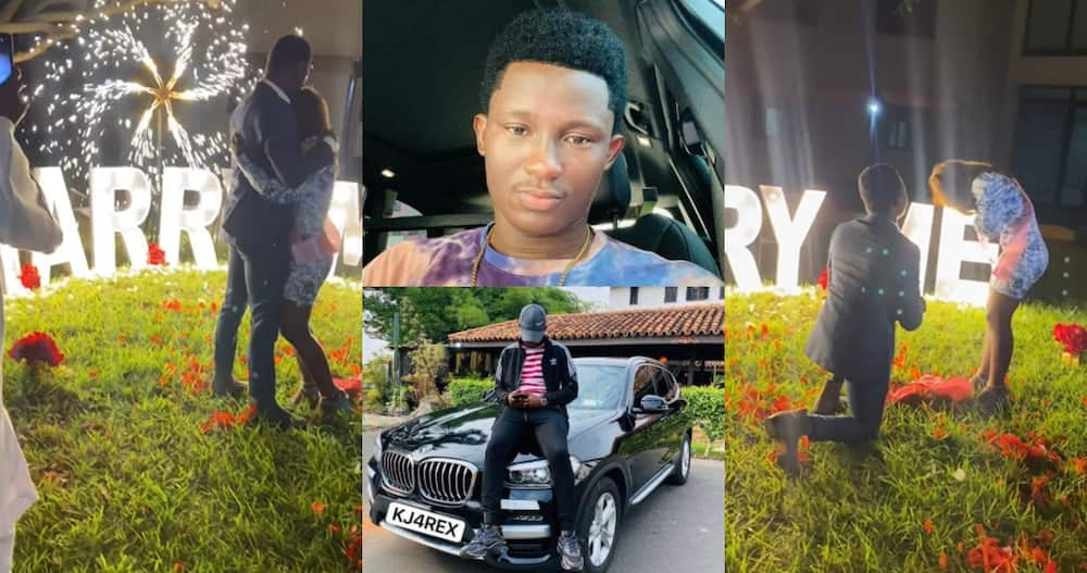 27-year-old Ghanaian who Became Millionaire Through Forex Trading Proposes to Girlfriend on her B'day