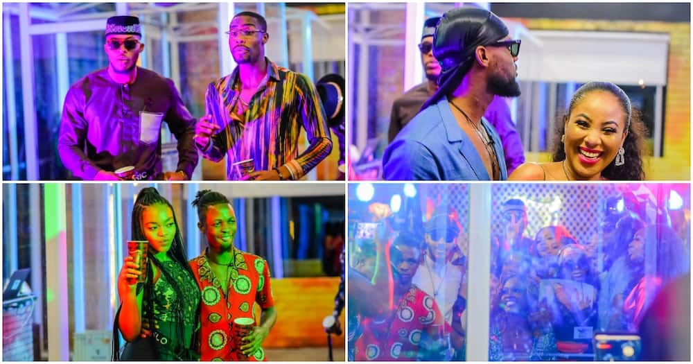 Official photos from BBNaija first Saturday night party