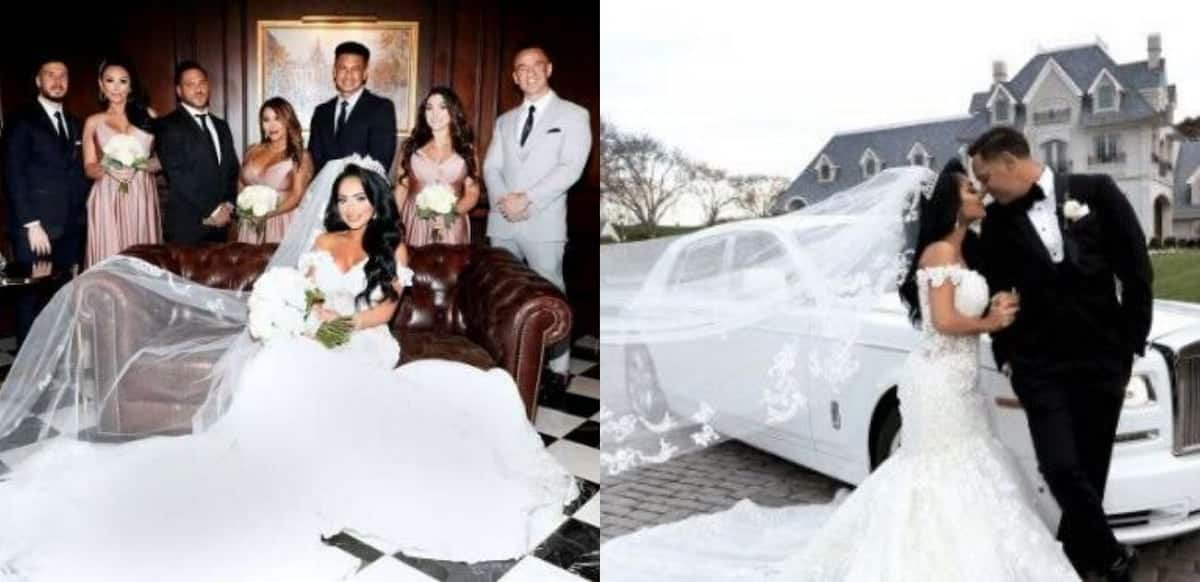 Cute wedding photos drop as former 'Jersey Shore' star Angelina gets married