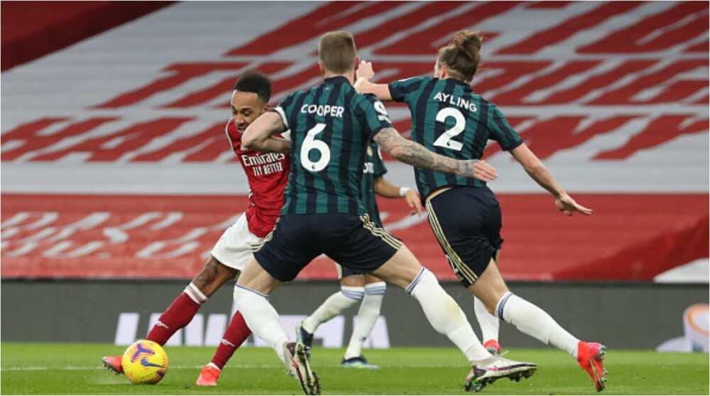 Arsenal vs Leeds United: Aubameyang nets hat-trick to sink Marcelo Bielsa's men