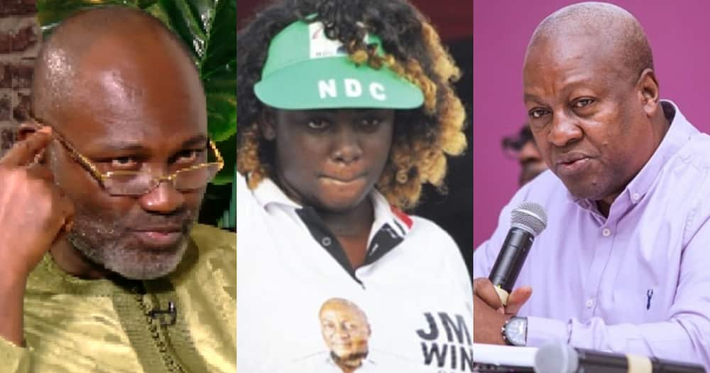 Kennedy Agyapong mentions Mahama and Tracey Boakye on campaign platform (video)