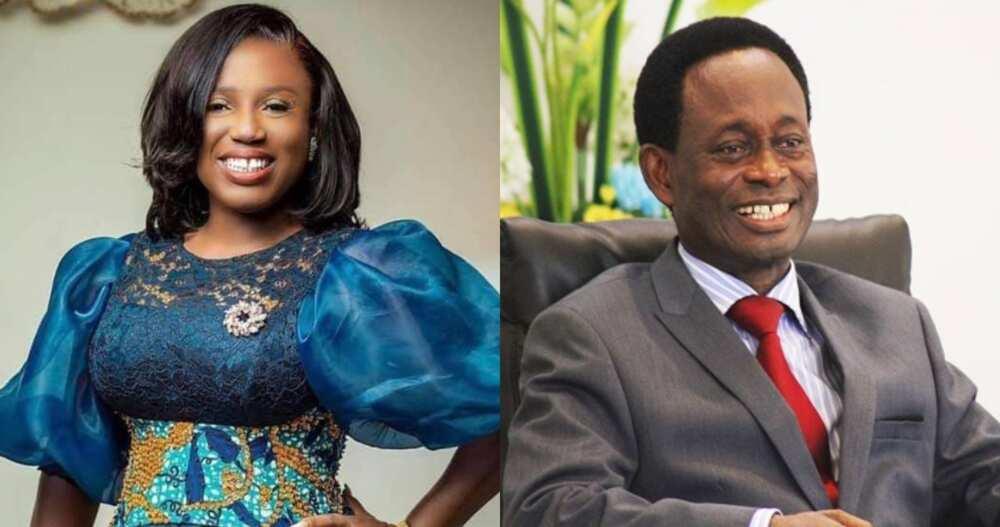 Opoku Onyinah: Former Pentecost Chairman Celebrates Diana Hamilton for her Award