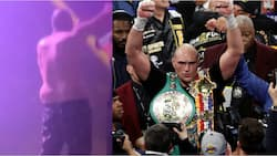 Tyson Fury captured in Las Vegas nightclub hours after brutally knocking out Deontay Wilder