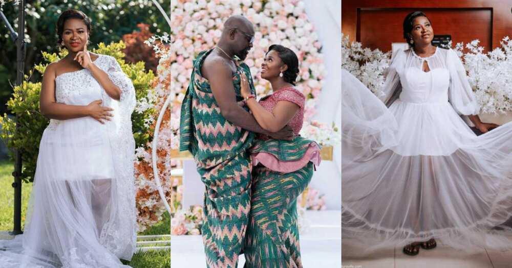 Never seen photos from Kumawood Actress, Portia Boateng's traditional wedding