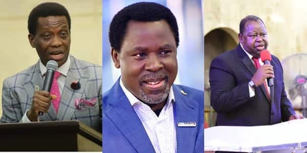TB Joshua, 2 other prominent Nigerian pastors who died in last 3 months and their photos