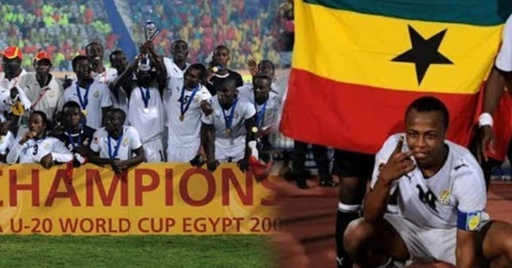Match highlights show how Ghana beat Brazil with 10 men to win world cup in 2009