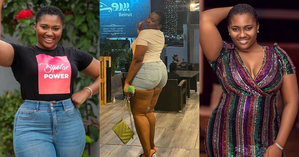 Abena Korkor 'Repents' After Akuapem Poloo Is Jailed; Deletes All Her Nude Photos