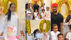 Beautiful photos pop up as Crystal Palace striker Jordan Ayew's wife celebrates her 30th birthday with lovely party