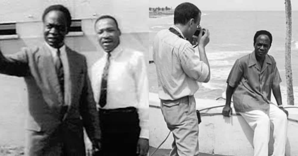 Ghanaians mark Dr Kwame Nkrumah's 111th birthday with highly iconic photos