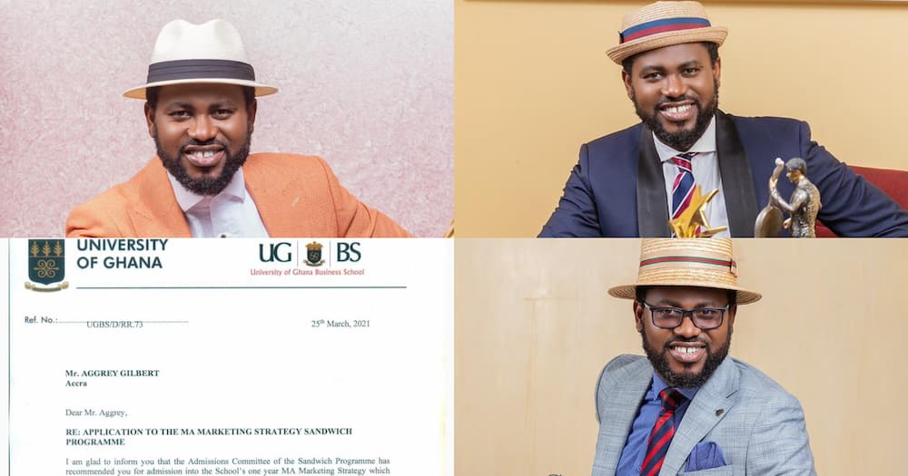 Abeiku Santana Gets Admission Into UGBS For Another Master's Degree