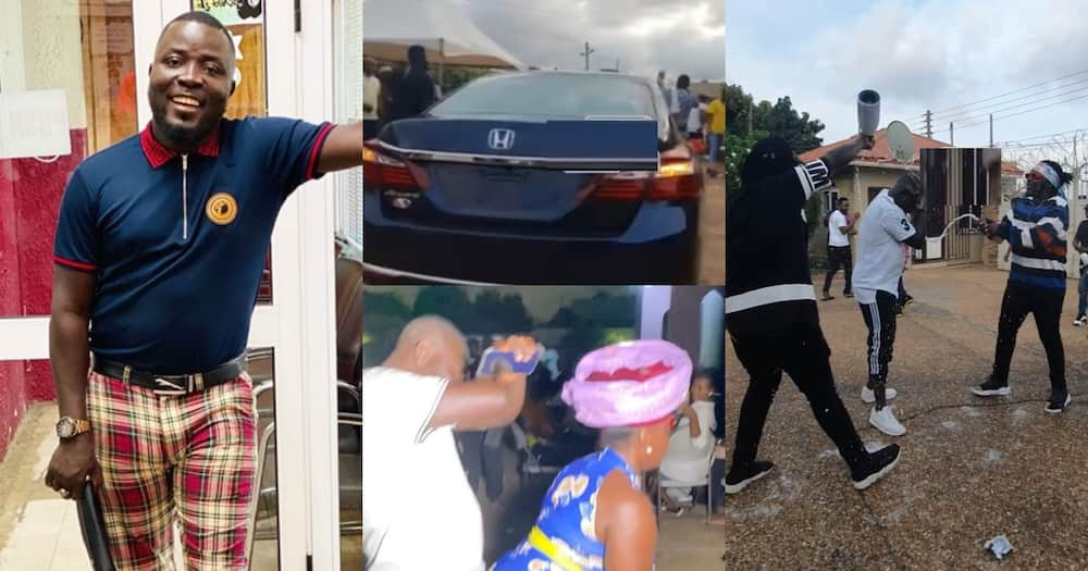 Dr Pounds: Hitz FM presenter gets brand new car as birthday gift from his friends (video)