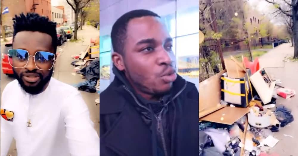 Ghanaian in US challenges Twene Jonas with video of dirty New York province