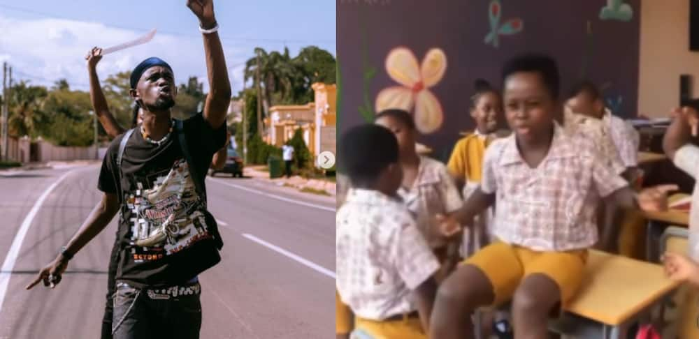 Young Ghanaian boy rapping to Black Sherif's 'Second Sermon' wows many on Social Media