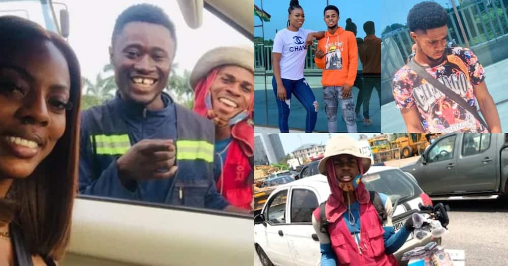7 latest photos of street hawker Nana Aba turned into journalist in 6 weeks; great transformation