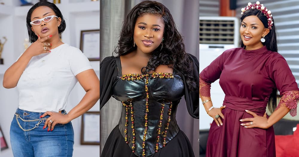 Nana Ama McBrown dances to Sista Afia's Weather song in new video