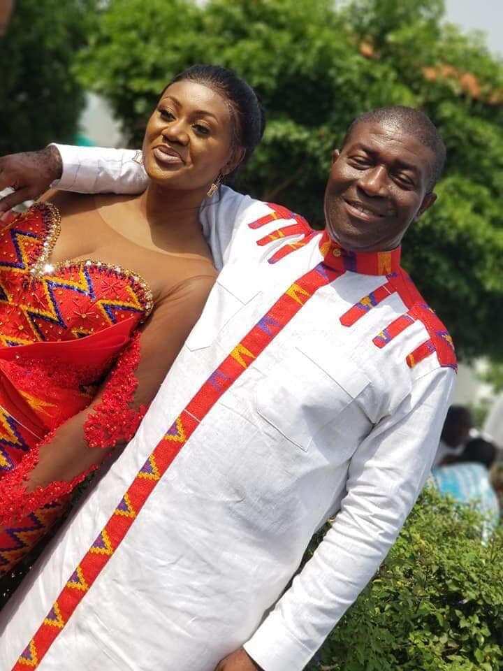 Photos: Nana Akomeah marries at age 57