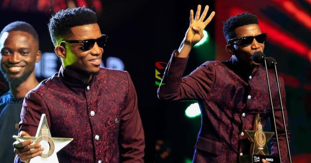 Kofi Kinaata: Rapper Celebrates Winning VGMA Songwriter of the Year Award for the 4th time in History