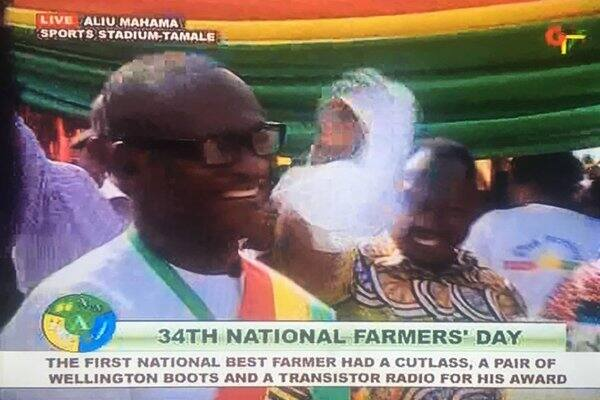 James Obeng Boateng 2018 National Best Farmer