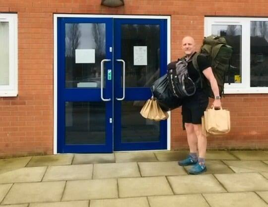 Teacher walks nearly 8km every day to deliver free school meals to 78 children