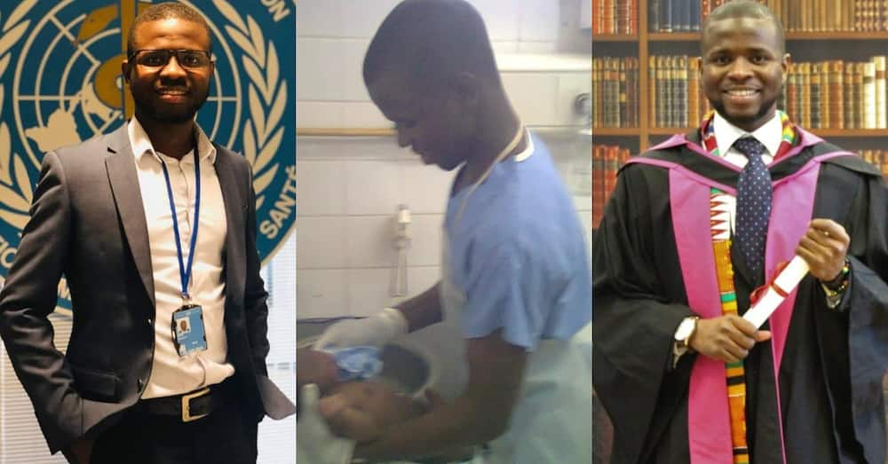Ghanaian who was confused whether to become a doctor or nurse ends up becoming both
