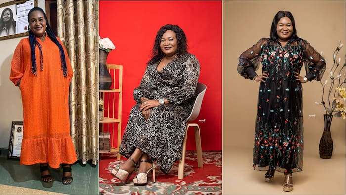 Kumawood actress Akyere Bruwaa gets Vivian Jill jealous after flaunting her 2 grown-up sons in lovely family photo
