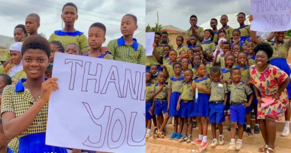 Ewuraama: Ghanaian teacher raises funds online & pays fees for 40 needy students